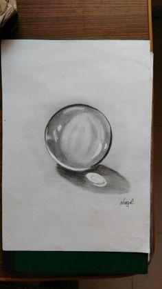 Crystal ball 3d sketch 3d Sketch, Oil Pastel Paintings, Crystal Ball, Crystals, Art, Art Background, Kunst, Crystal, Performing Arts