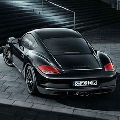 Porsche Cayman S Black Edition - Freshness Mag Porsche 2017, Porsche Cars, Porsche 356, Bugatti Cars, Porsche Boxster, Cool Sports Cars, Sport Cars, Cool Cars, Cayman S