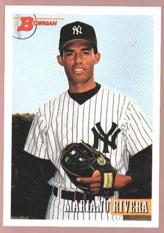 "MARIANO RIVERA YANKEES MINT ROOKIE YEAR RC SP 1993 93 BOWMAN NEW YORK NY ""GEM"""