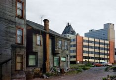 Westend Galaxy, 1960, Fred Herzog. Transition of old Vancouver into Modern Vancouver