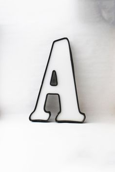 Vintage Large Letter A - Sign Billboard Letter, Old Signage, Personalized Home Decor, Letter Wall Hanging, Initial Home Decor. $12.00, via Etsy.