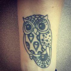 Owl tattoo ♥