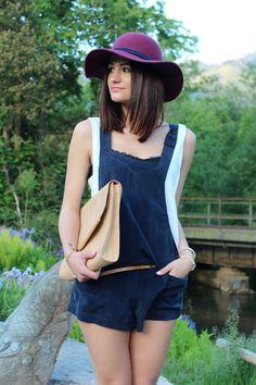Blue Jumpsuit ( Hats & Jumpsuits )