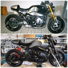 Nine T, Motorcycle, Grey, Vehicles, Black, Gray, Black People, Rolling Stock, Motorcycles