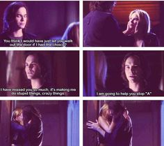 Yay #Haleb! #PLL love them both