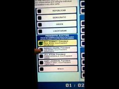 FRAUD!!!! VIDEO CAPTURES VOTING MACHINE CHANGING VOTE_says the OP. I think it is simply a screen-calibration and programming issue. Right! ALL machines should be calibrated before the voting begins! This is NOT AN ACCIDENT! Barry is a fraud and now that America knows he can only lie cheat and steal some more to fake a WIN!
