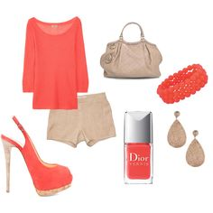Coral summer - I can rock it all but not sure about the shoes