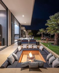 Dream Home Design, Modern House Design, Home Interior Design, Exterior Design, Bar Interior, Interior Modern, Luxury Homes Dream Houses, Backyard Patio Designs, Backyard Ideas