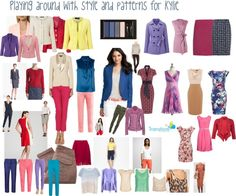 """""""Playing with style and pattern for Kylie"""" by transform-image-consulting on Polyvore"""