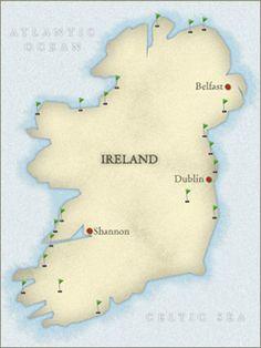 Ireland Sample Itinerary - Ireland Golf Travel