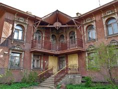 Дом С.Г.Гордеева   1900-1907 года постройки  г. Рыбинск