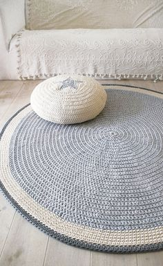 crochet rug.