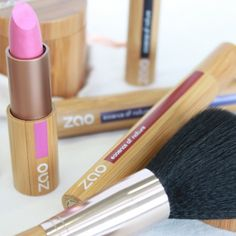 ZAO make-up is 100% organic and is great for environmentalists; the packaging is made using sustainable bamboo. Most of the products are refillable which in a throwaway society gets my vote every time. Checkout the range of products on-line at www.zaoorganicmakeup.com