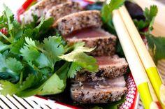 Pepper Seared Ahi Tuna | Cooking On The Weekends