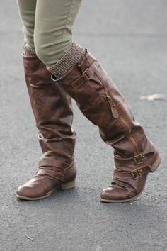 Love the boots.