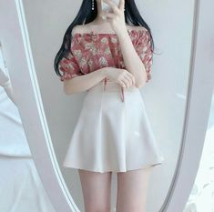 Look at this Trendy korean fashion outfits Korean Girl Fashion, Korean Fashion Trends, Ulzzang Fashion, Korea Fashion, Asian Fashion, Kawaii Fashion, Cute Fashion, Look Fashion, Street Fashion