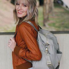 Best diaper bag in the world KikiLu Designs leather backpack | JAMIEERICKSEN