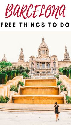The best free things to do in Barcelona. Perfect for those travelling on a budget. Don't miss these free spots on your itinerary. #budgettravel #traveltips #barcelonadestination