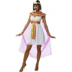 Ladies Pink Cleopatra Costume - £31.99