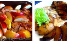 Római tálban sült almás kacsahús recept Baked Potato, Potatoes, Baking, Ethnic Recipes, Food, Potato, Bakken, Essen, Meals