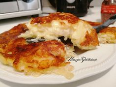 Frico (ricetta presa da una Friulana Doc) - Cucina con Fantasia Quiche, Good Food, Yummy Food, Antipasto, Bread Recipes, Food To Make, Side Dishes, Easy Meals, Food And Drink