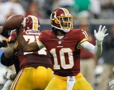 """Washington Redskins quarterback Robert Griffin III was reportedly told by an NFL uniform inspector not to wear his """"Know Jesus, Know Peace"""" t-shirt before Sunday's postgame press conference."""
