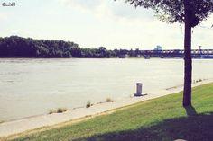River Park Bratislava #river #park #dunaj #bratislava #slovakia #scenery