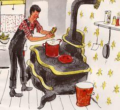 Mr. Picklepaw's Popcorn by Ruth Adams, illustrated by Kurt Werth (1965)
