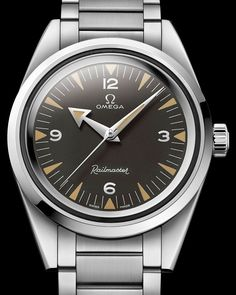 Omega  Railmaster 1957(part of Trilogy' 60th Anniversary Limited Edition Watches Watch Releases )