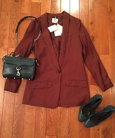 How to wear your eBay Finds. H&M Jacket for sale paired with my favorite accessories. #h&M #rebeccaminkoff #pourlevictoire #ebay #ebaystore #ebaysale #copper #copperandteal #makeanoutfit