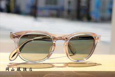 OLIVER PEOPLES Sheldrake with〝色が変わるレンズ〟岡山眼鏡店 Oliver Peoples, With, Glasses, Instagram, Eyewear, Eyeglasses, Eye Glasses, Sunglasses