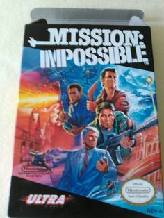 Mission: Impossible  (NES, 1990) Nintendo Game
