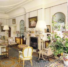Inside Clarence House | Luke Honey | Decorative Antiques, Chess & Games