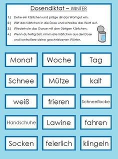 Dosendiktat - Winter Mother To Baby, Last Week Of Pregnancy, Hormonal Changes, Adolescence, Stress Free, Weather Conditions, Kids And Parenting, German, Classroom