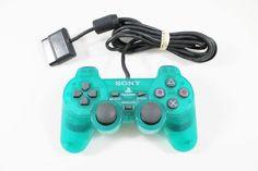 Original Sony PlayStation 2 Emerald PS2 DualShock 2 Controller | eBay