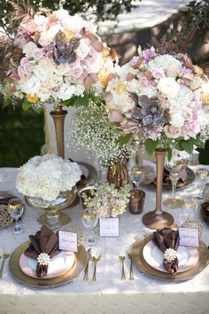 Non-traditional fall inspired wedding: Copper and Peach by Utah Events by Design