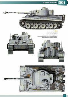 Panzerkampfwagen VI Tiger I Ausf. E Profile