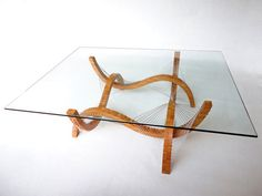 Contour Coffee Table by  Robby Cuthbert Design