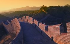 Great wall of China is one of the wonders of World. It is the most beautiful place for visiting, trekking and hiking. It looks marvelous at sun set time and trekking at that time is really interesting and full of adventurous.  #Greatwalltrekking #Beijing