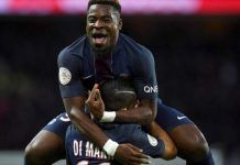 PSG defender Serge Aurier refused entry into UK for Arsenal Champions League clash after recent conviction