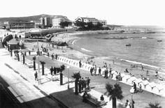 Playa de Riazor. La Coruña