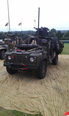Military LR Defender