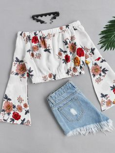 teenager outfits for school . Crop Top Outfits, Cute Casual Outfits, Cute Summer Outfits, Pretty Outfits, Stylish Outfits, Spring Outfits, Summer Clothes, Teenage Outfits, Teen Fashion Outfits