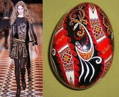 Ukrainian motif in collection by Gucci, from Iryna