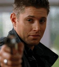 [gif] #DeanWinchester  #Supernatural // 3x06 Red Sky At Morning