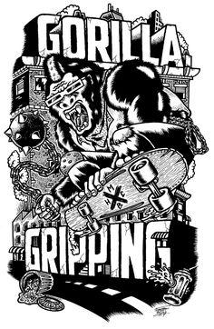 VARIOUS BANDS / ROCK Shirts by Freak City, via Behance