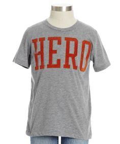 Hero Tee. My boyfriend needs cause he is my hero