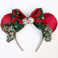 Holiday Pine Magic Mouse Ears