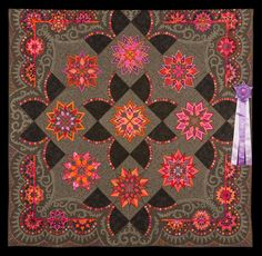 2016 Quilt Expo Quilt Contest, Best of Show: Stars on Mars, Gail Stepanek and Jan Hutchison, New Lennox, Ill. quiltexpo.com