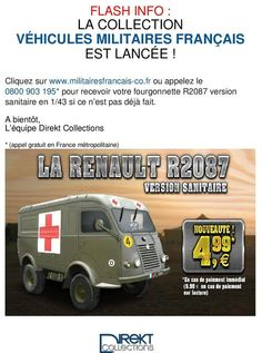 Renault R2087 au 1/43 (Direkt Collection)